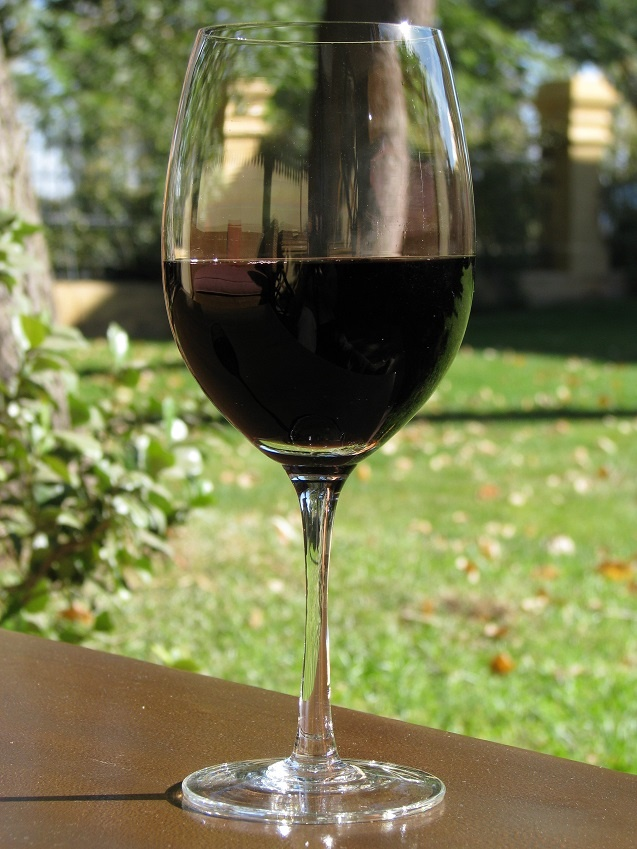 вино Мальбек в бокале фото