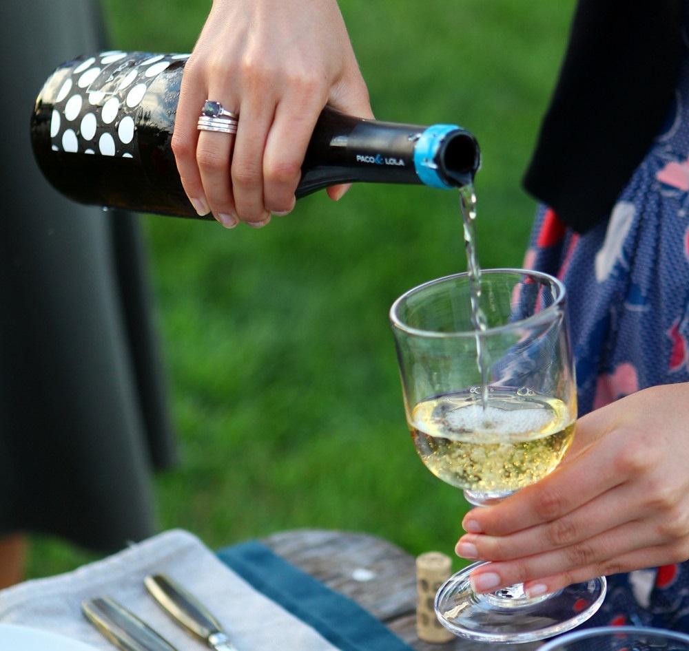 белое вино Альбариньо фото