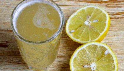 домашний квас из лимонов
