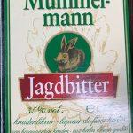 этикетка ликера Mummelmann Jagdbitter