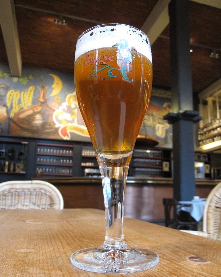 как правильно пить пиво блонд
