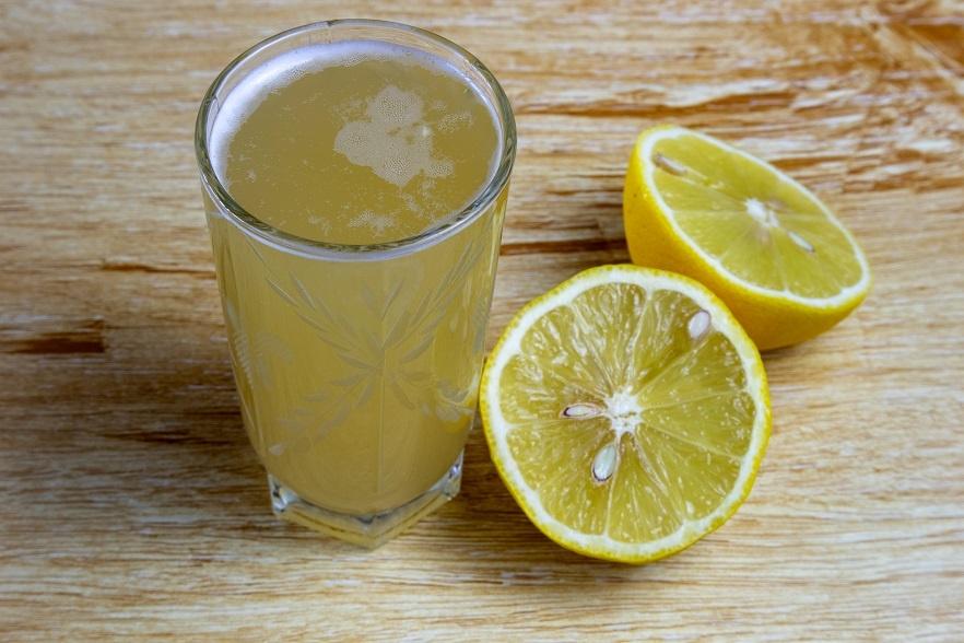лимонный квас с сухими дрожжами фото