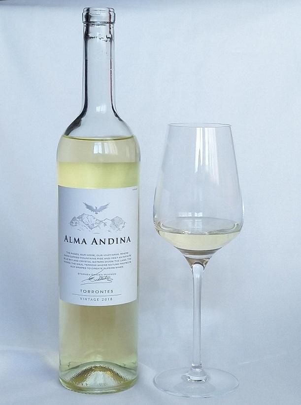 фото белого вина Торронтес