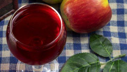 фото вина из черноплодной рябины и яблок