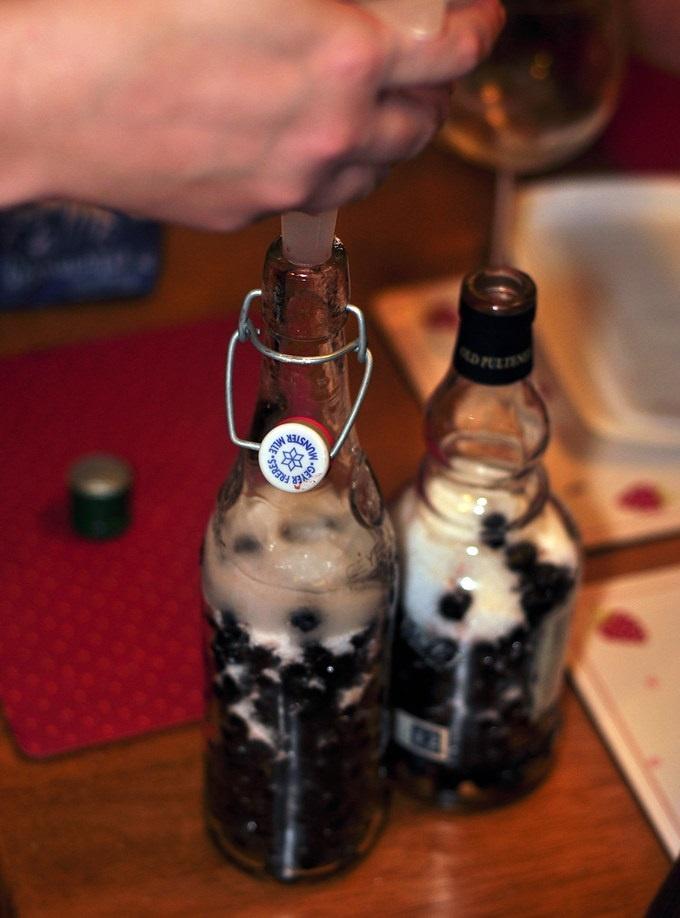 фото как сделать терновый джин
