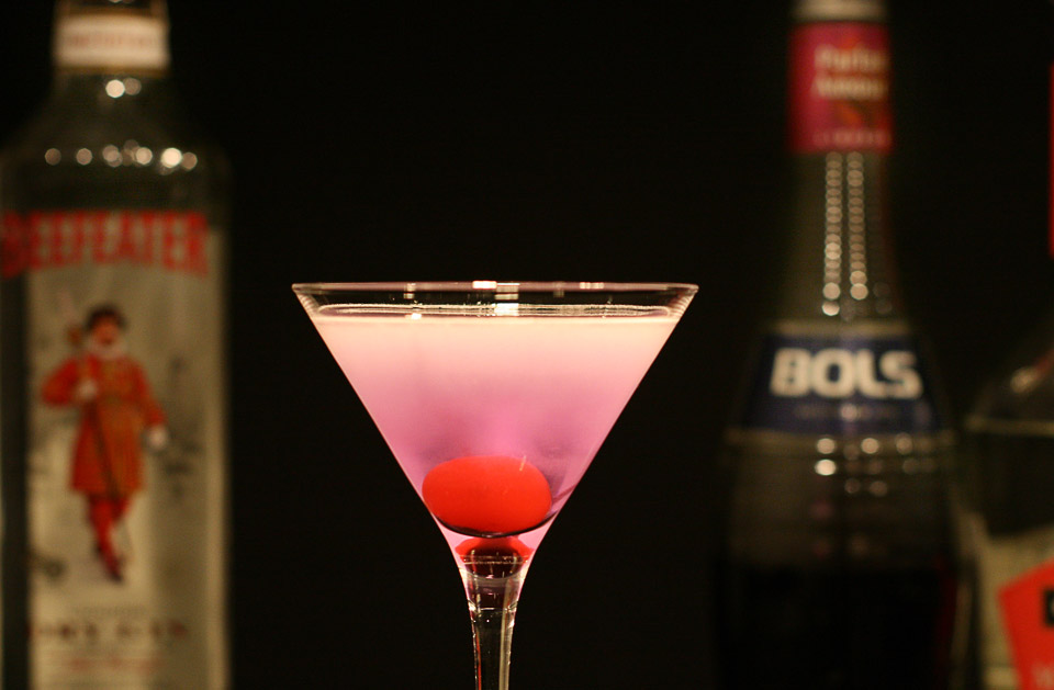 фото коктейля «Английская роза»