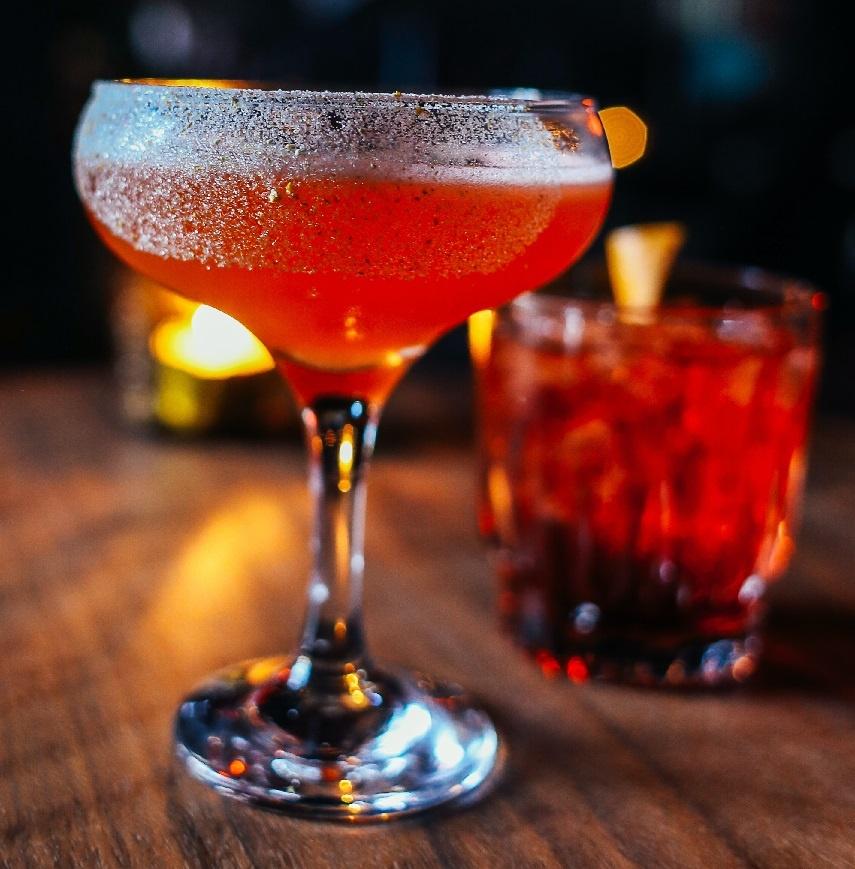 фото коктейля слоу джин физ