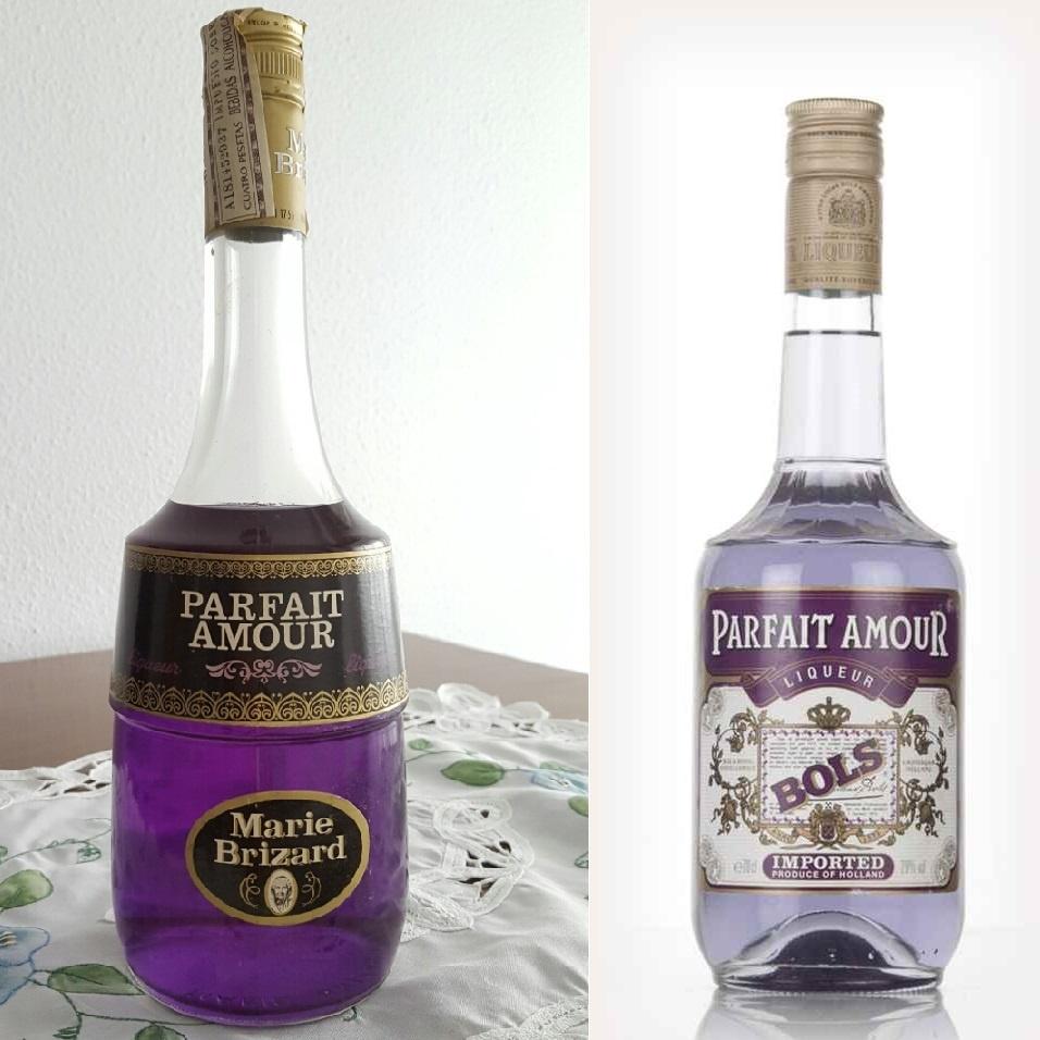 марки ликера Парфе Амур