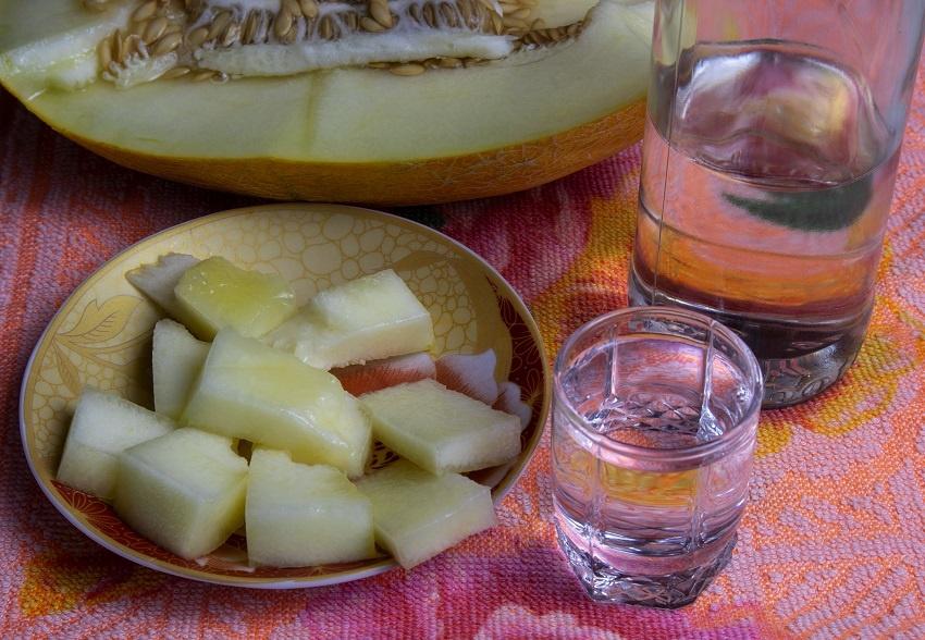 можно ли закусывать водку дыней